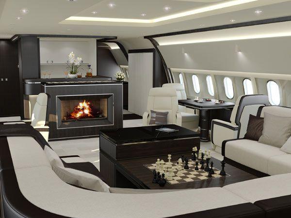 Private Jet Interior On Pinterest Luxury Private Jets Private Jets And Yacht Interior