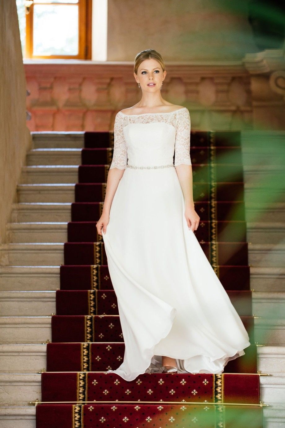 Brautkleid Spitze Ärmel – Vintage Bolero Look – Pola | Zukünftige ...