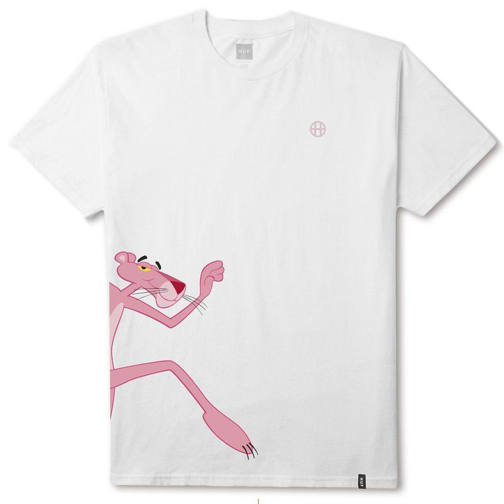 Hufhuf X Pink Panther Run Ss Tee White 2100 In 2019 Cool