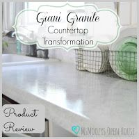 Msmoozys Open House Giani Granite Countertop Transformation