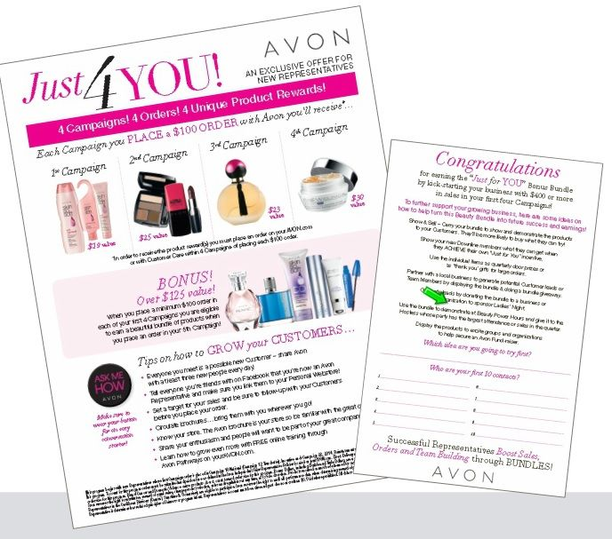 How Much Do You Make Ing Avon Just For Program With The