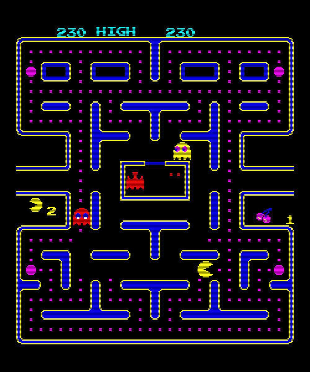 the original PAC MAN | Because It Makes Me Smile ...