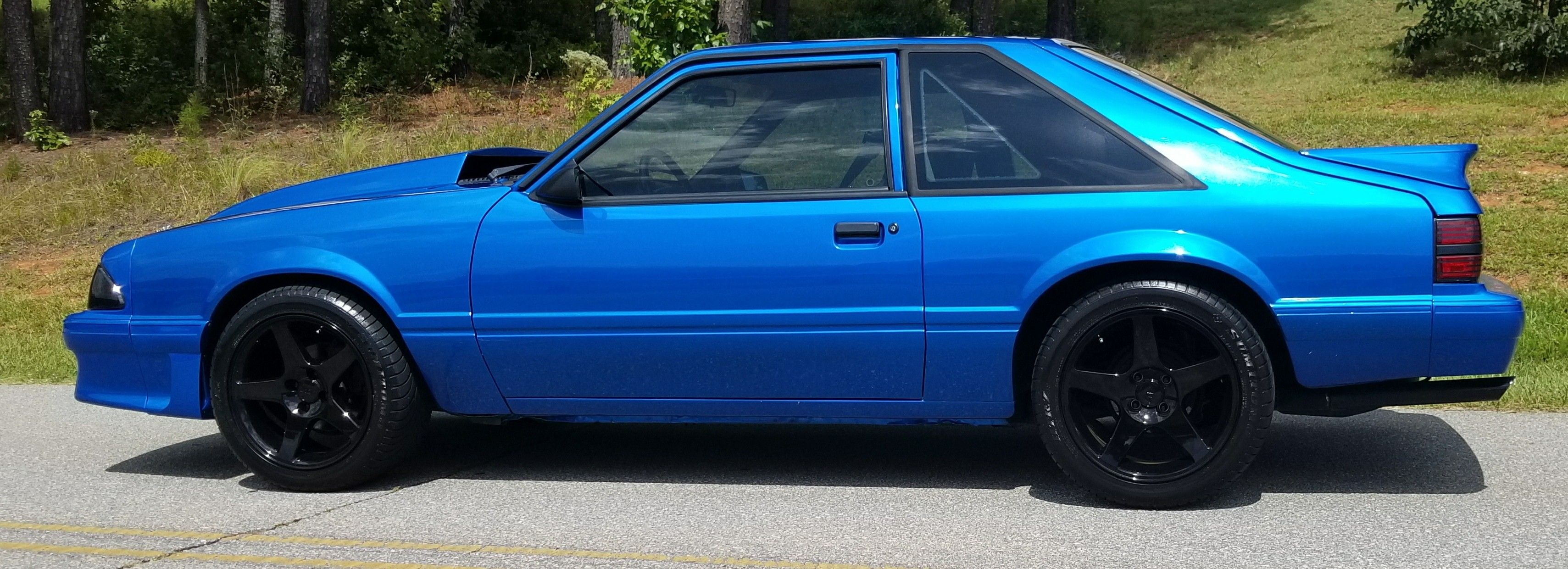 1990 Mustang Lx 5 0 Hatchback Classic Cars Muscle Blue Mustang Fox Mustang
