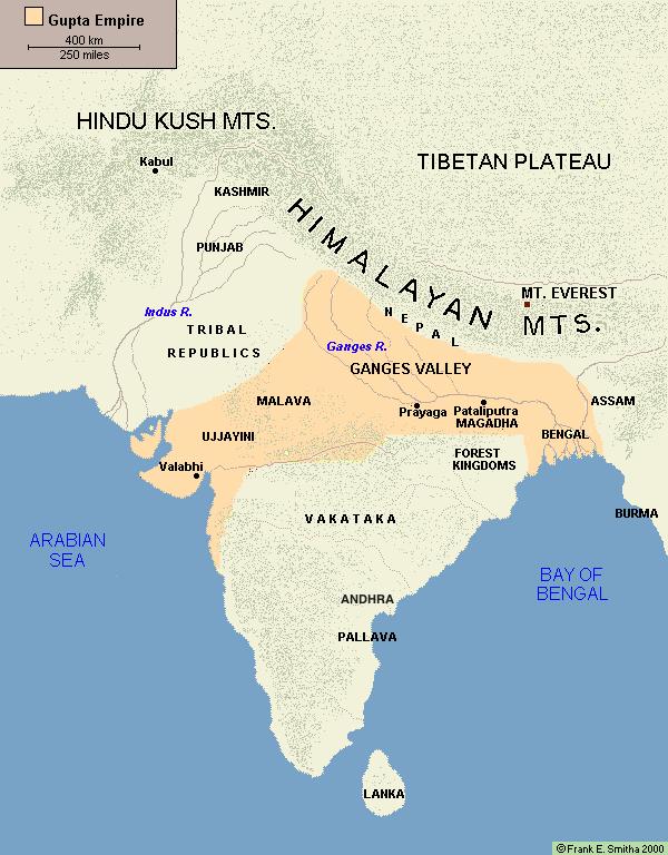 Map of india the gupta empire gupta empire pinterest empire map of india the gupta empire mappa mundiworld historyhistory gumiabroncs Images