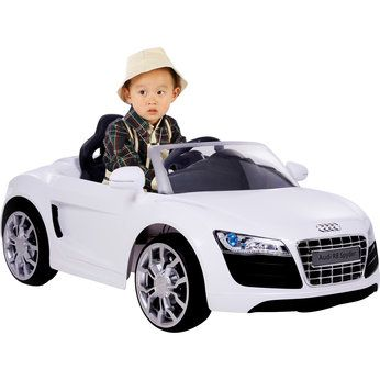 Audi R8 6V In White   Toys R Us   Britainu0027s Greatest Toy Store