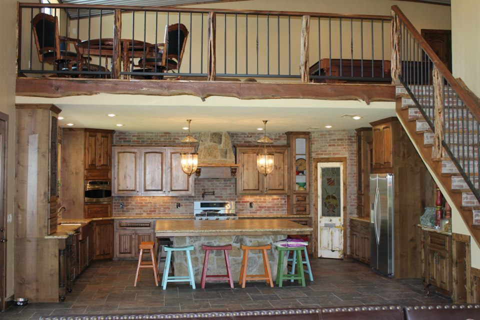 Barndominium interior pictures design ideas also rh pinterest