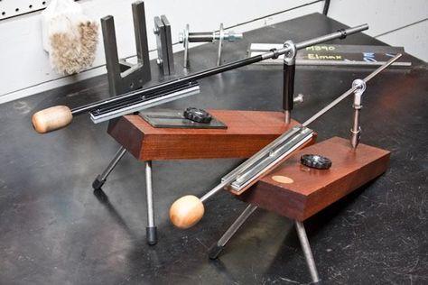 DIY Lansky sharpening system. Homemade knife sharpening ...