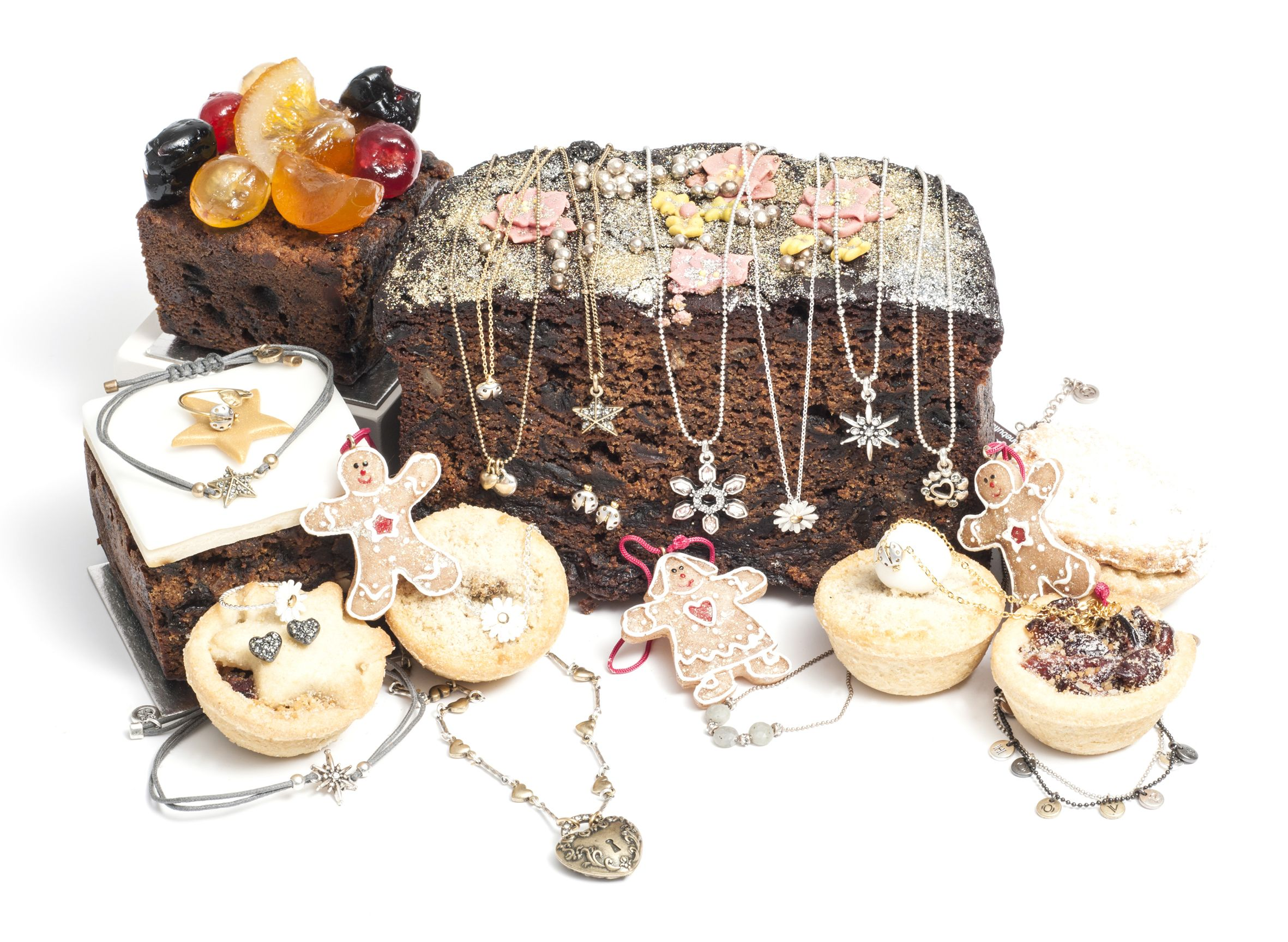 Christmas Cake and Gifts from a recent photo shoot...