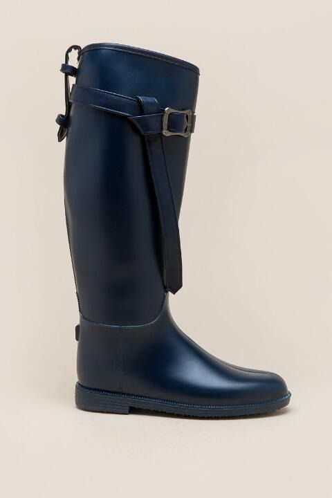 Dirty Laundry Rise Up Belted Rainboot Rain Boots Sock Shoes Boots