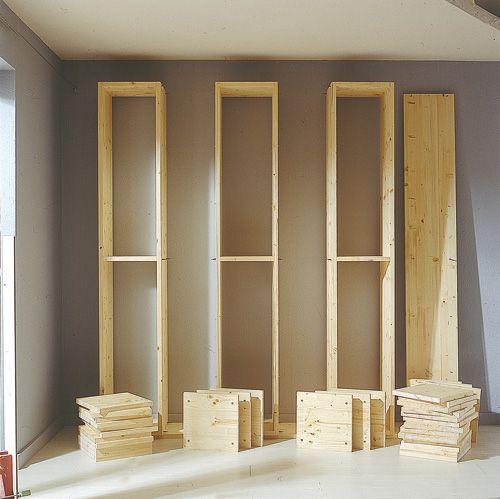 Costruire Mensole Per Libreria A Muro.Come Costruire Una Grande Libreria A Moduli Fai Da Te A Tutta