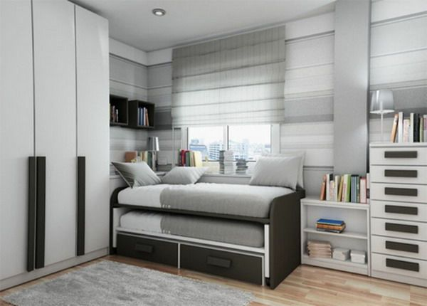 Small bedroom layout examples small bedroom design ideas for Small bedroom double bed ideas