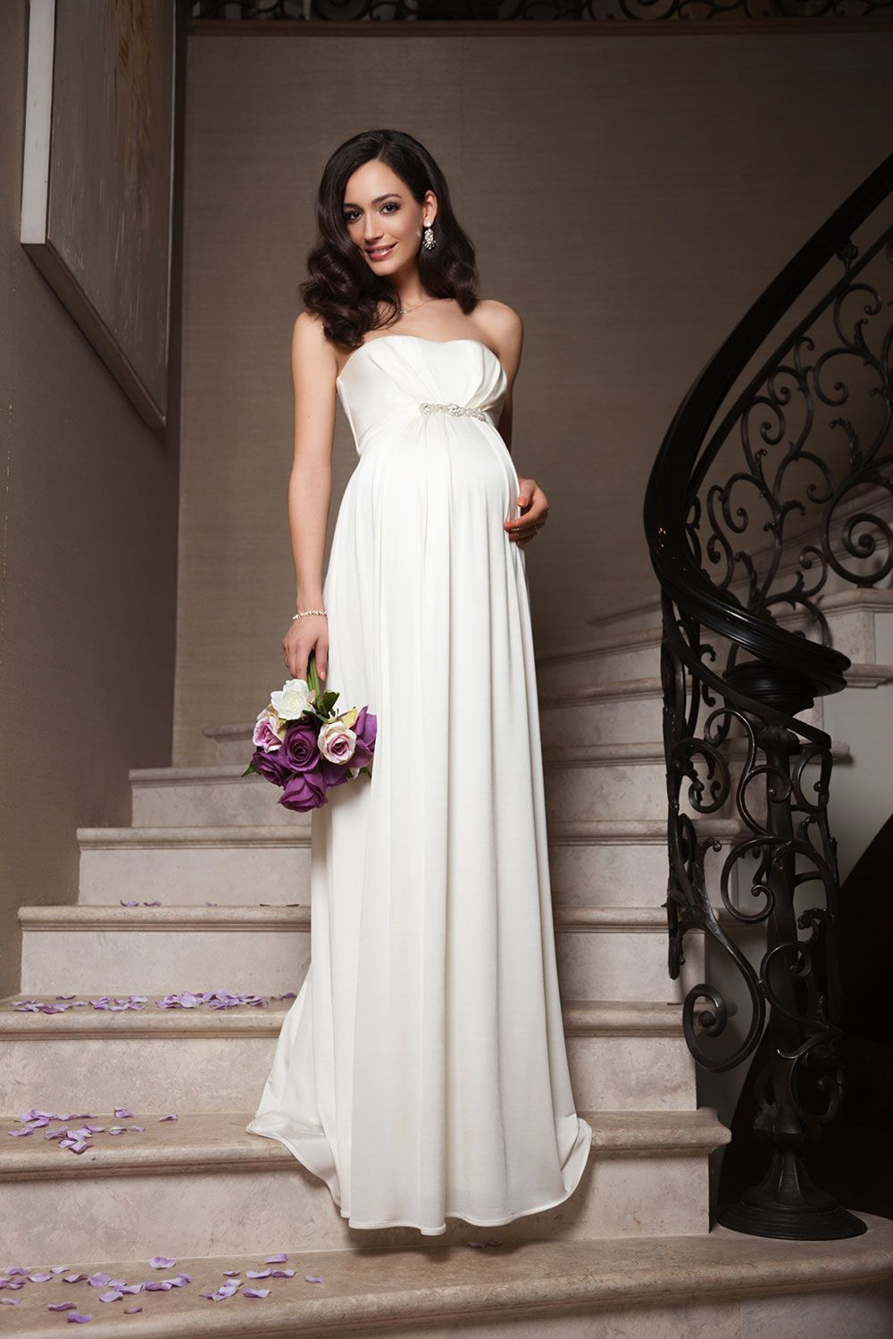 The best maternity wedding dresses strapless wedding dresses the best maternity wedding dresses ombrellifo Images