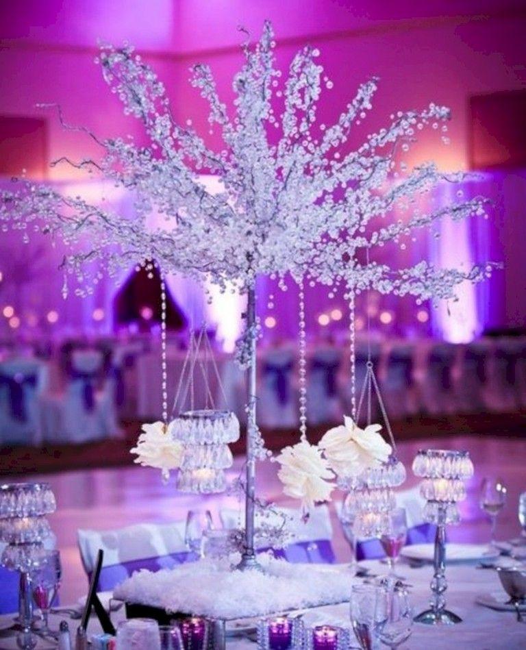 35 Amazing Winter Wonderland Wedding Decoration Ideas Winter Wonderland Wedding Decorations Wonderland Wedding Decorations Winter Wonderland Wedding Centerpieces