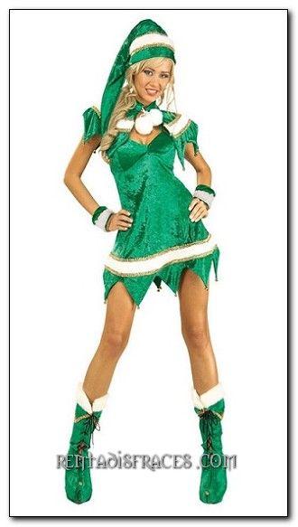 Pin de marina yepes en villavo disfraces disfraz de - Disfraces de duendes de navidad ...