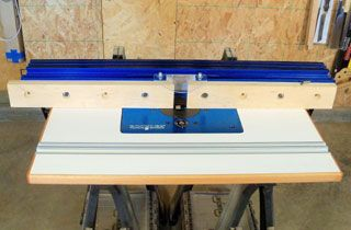 Shop made router table part ii adding a fence router table shop made router table part ii adding a fence rockler keyboard keysfo Gallery