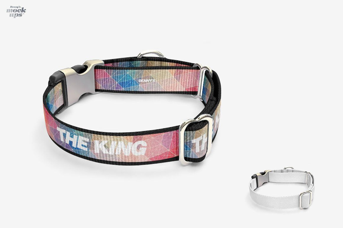 Dog collar mockup free