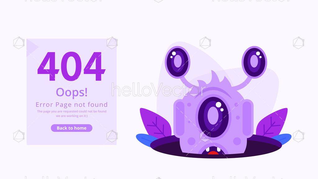 Error 404 Page Template Download Graphics Vectors Page Template Templates Templates Downloads