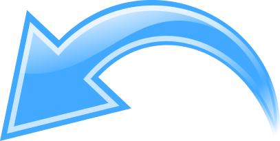 Arrow Curved Blue Left Curved Arrow Arrow Curve
