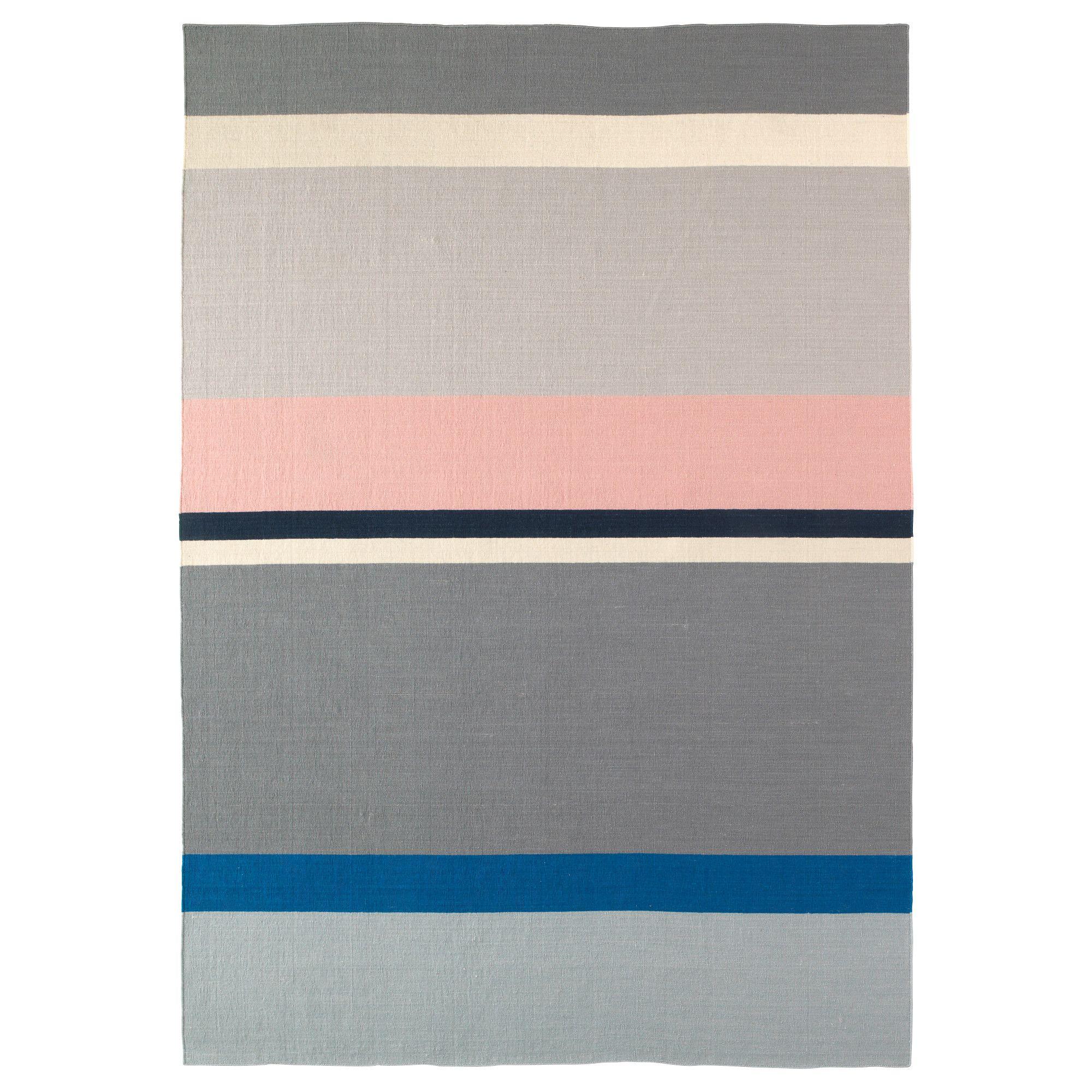 Living Room Ikea Indonesia: SALTBÄK Rug, Flatwoven, Handmade Multicolor Multicolor
