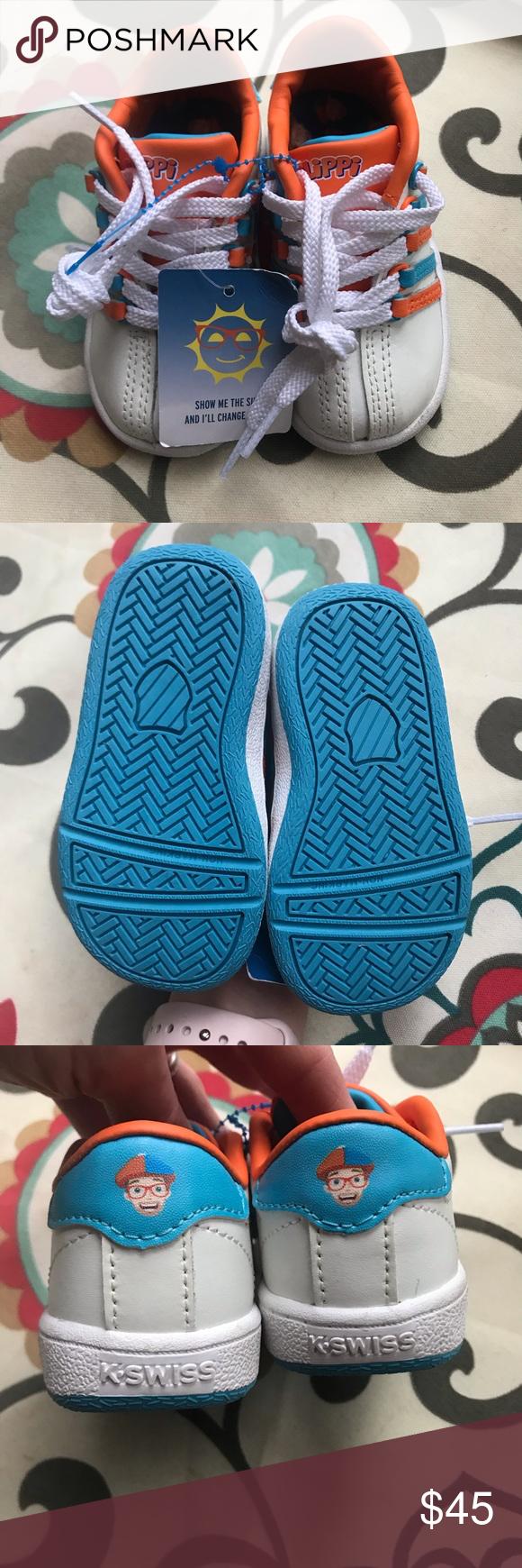 K-Swiss Blippi sneakers size 5 color