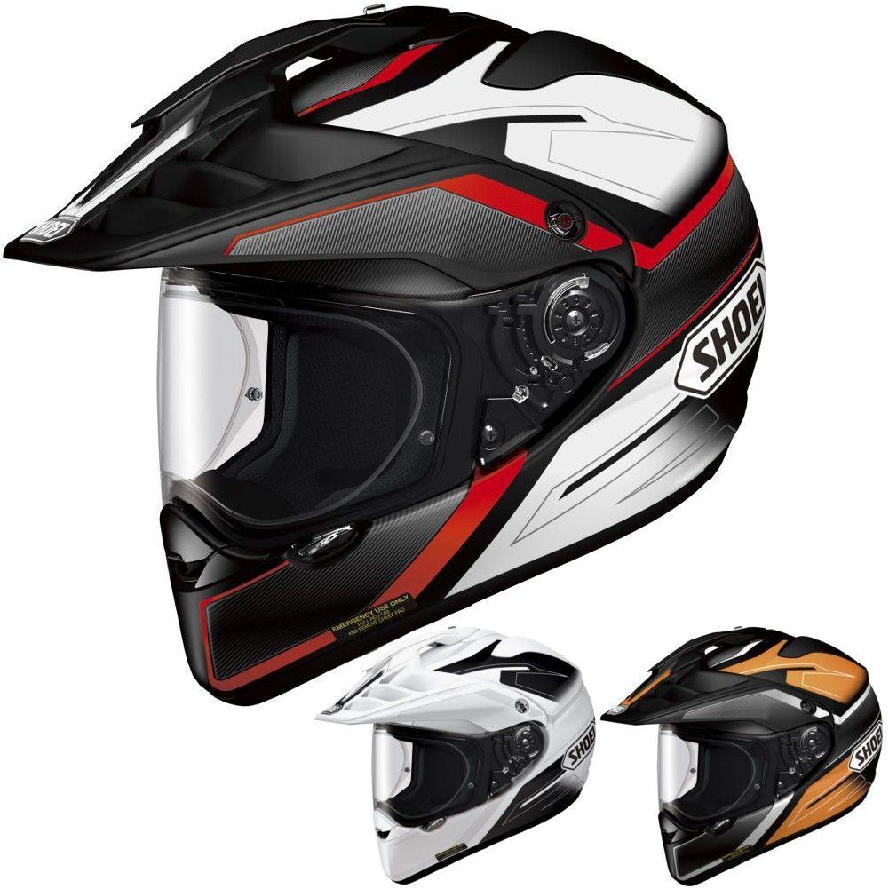 DP Shoei X2 Seeker Mens Dual Sport Helmets Dual