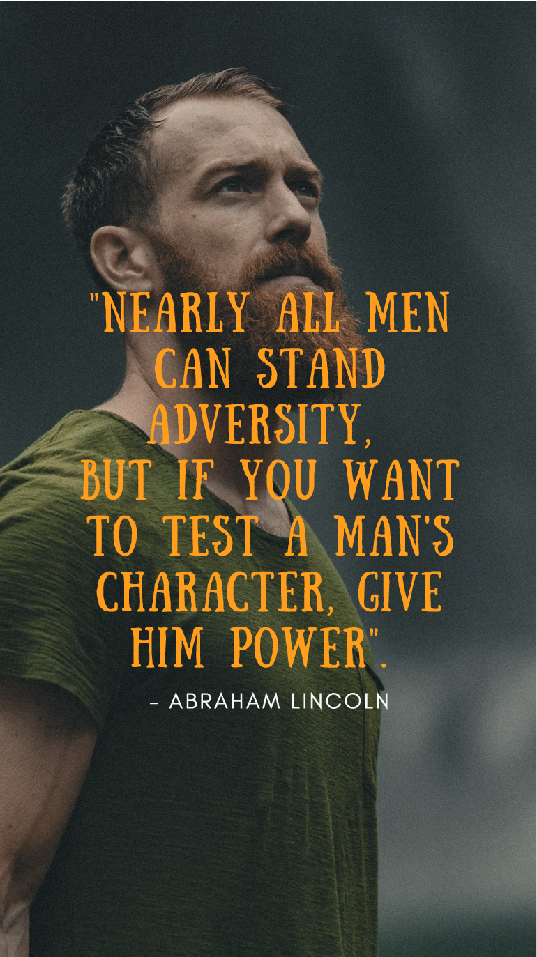 Give A Man Power Quote : power, quote, Resilience, Quotes
