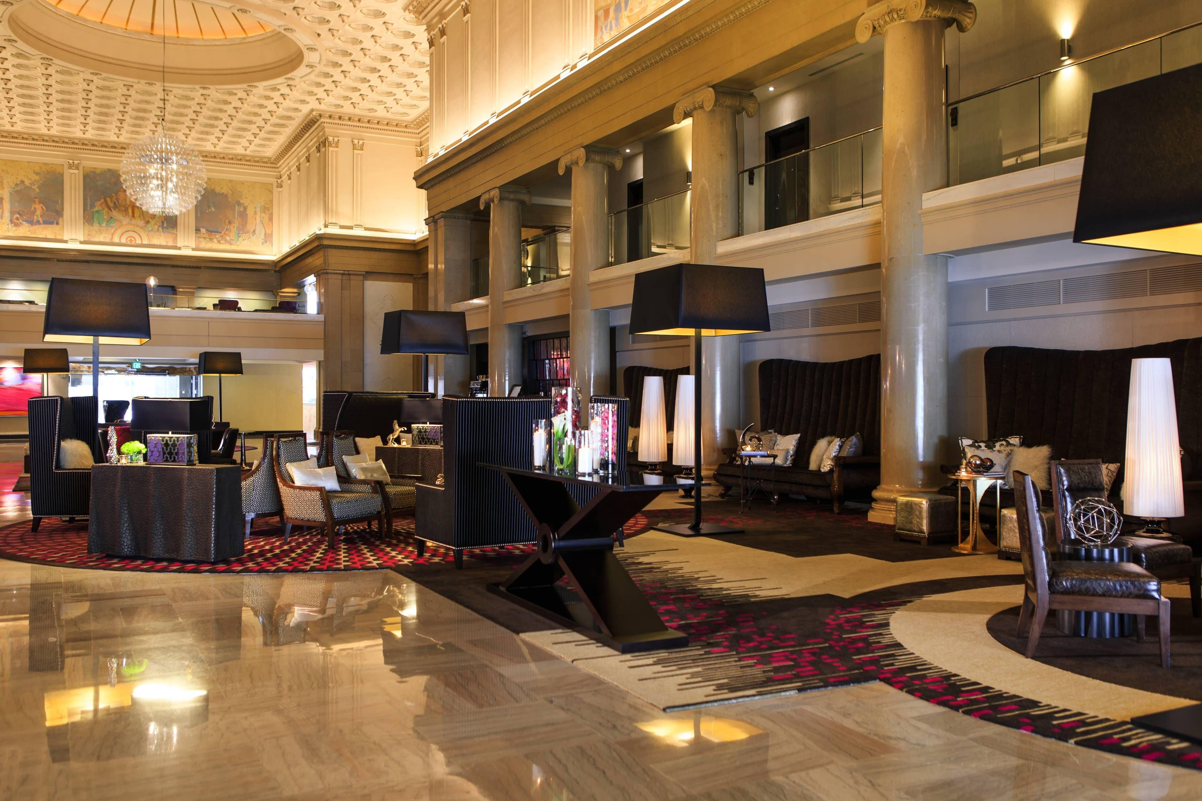 Renaissance Denver Downtown City Center Hotel Lobby Seating Area Happy Hotels Holidays Denver Hotels City Center Hotels Hotel