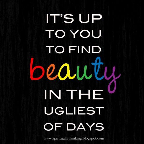 find beauty,always:)