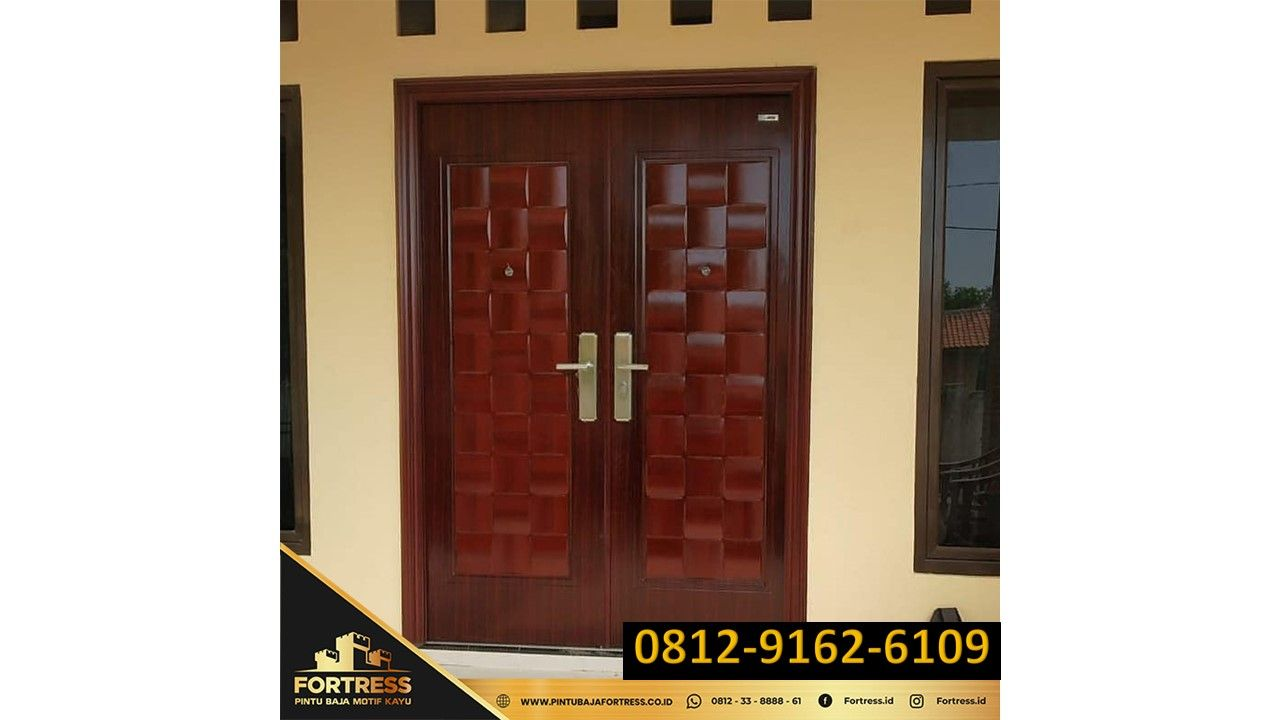0812-9162-6109 (FORTRESS), Chinese House Door Model