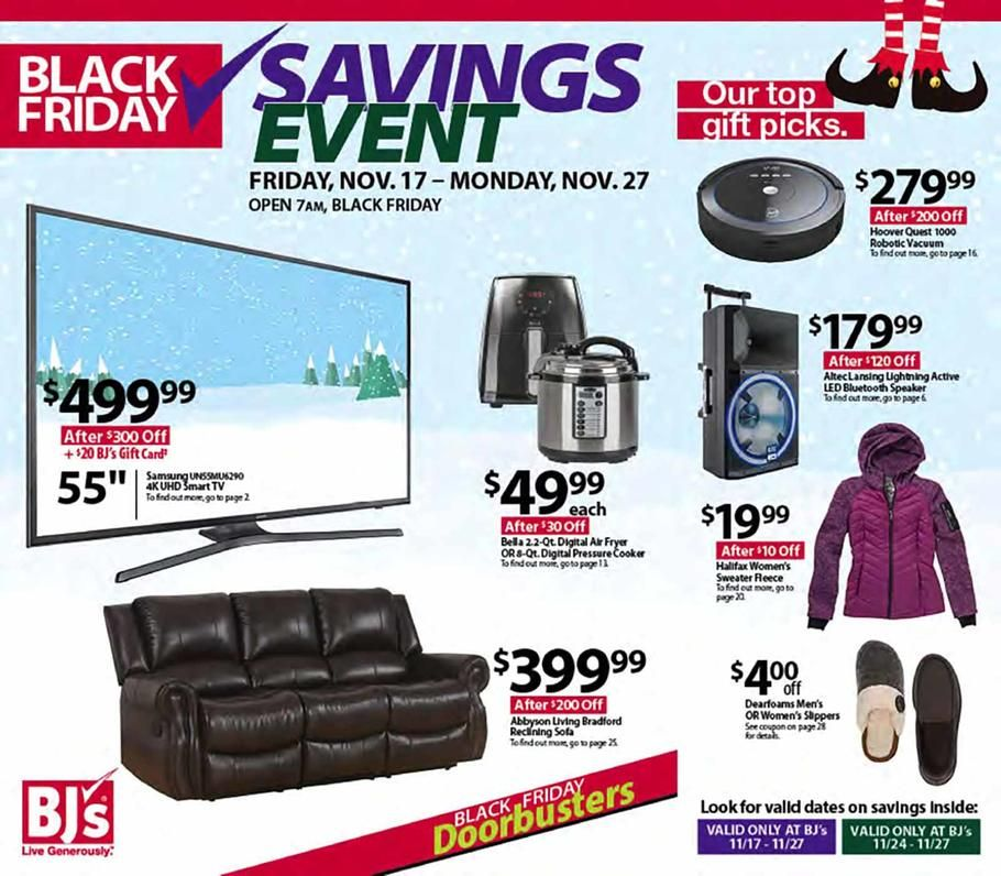 Awe Inspiring Bjs Wholesale Black Friday 2017 Ad Scan Deals And Sales Evergreenethics Interior Chair Design Evergreenethicsorg