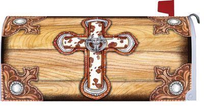 Western Cross Mailbox Cover Mailbox Covers Mailbox Cover
