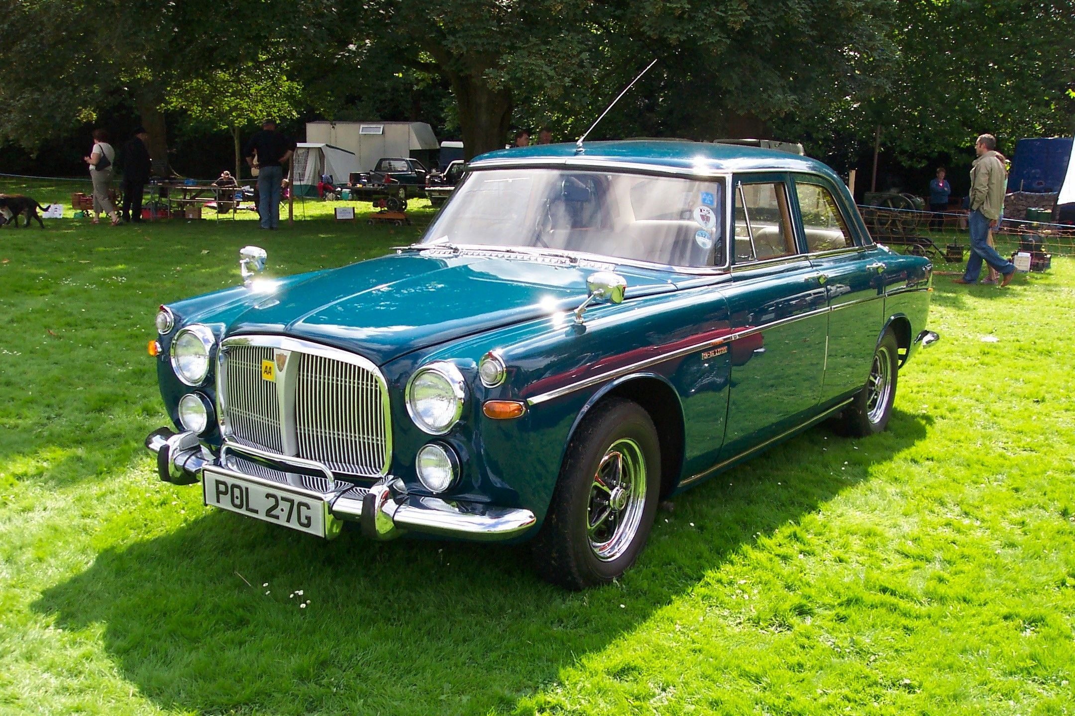 Rover P5 3500 best of the line as used by Government
