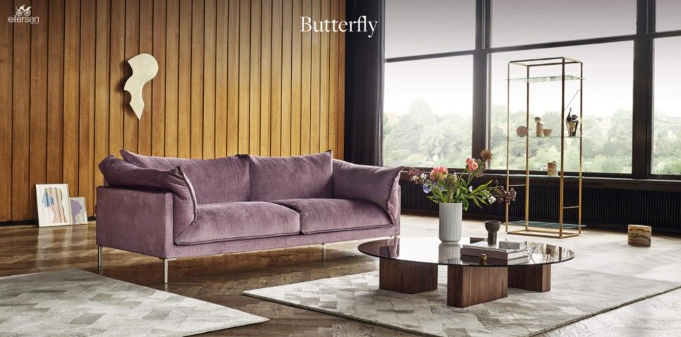Butterfly Living Room Sofa Design Comfortable Furniture Furniture