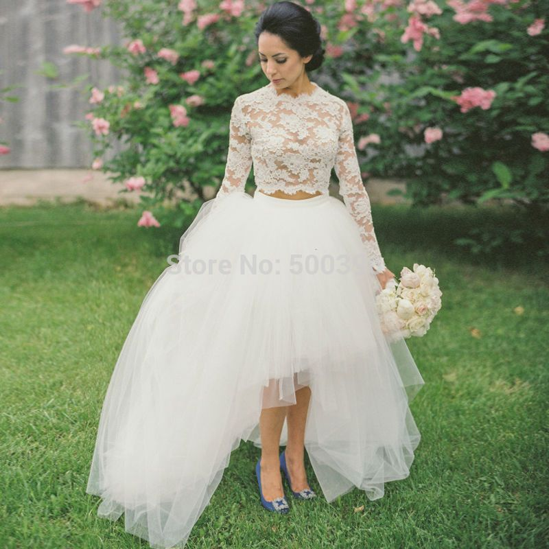 Cheap Dress Up Wedding Dresses Buy Quality White Directly From China Games Girls Suppliers Tulle And Lace 2 Piece