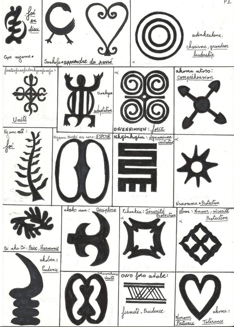 Adinkra 1 By Whytechoc Symbols Pinterest Symbols Tattoo And