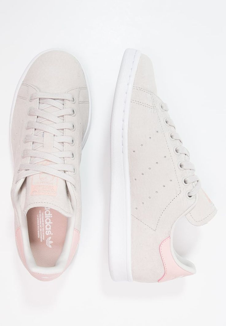 timeless design 3e578 33f74 Adidas Women Shoes - Adidas Originals STAN SMITH - Sneaker low - pearl grey  white vapour pink - We reveal the news in sneakers for spring summer 2017