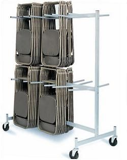Folding Chair Storage Cart Raymond Products Full Size 2 Tier Truck Shipping Included