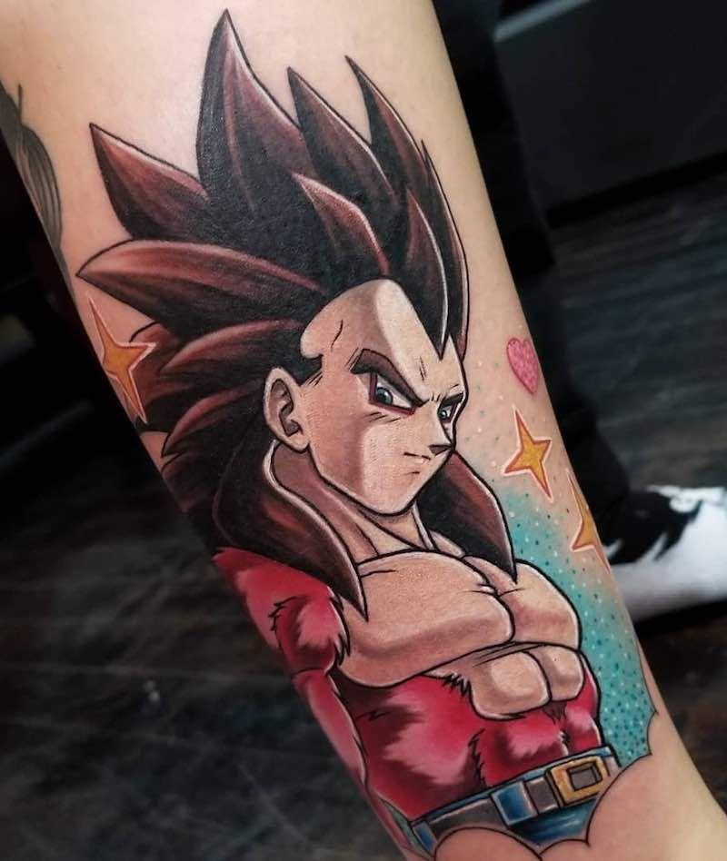 The Very Best Dragon Ball Z Tattoos Dragon Ball Z Tattoos Dragon