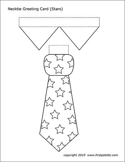 Necktie Greeting Card Templates Free Printable Templates Coloring Pages Firstpal Greeting Card Template Printable Greeting Cards Templates Printable Free