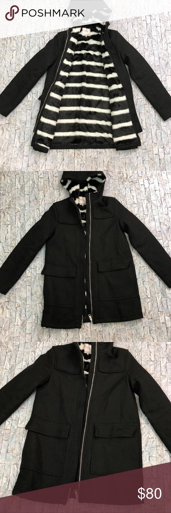 Zara Trafaluc Zebra Lined Jacket Size Xs Line Jackets Fashion Clothes Design [ 1740 x 580 Pixel ]