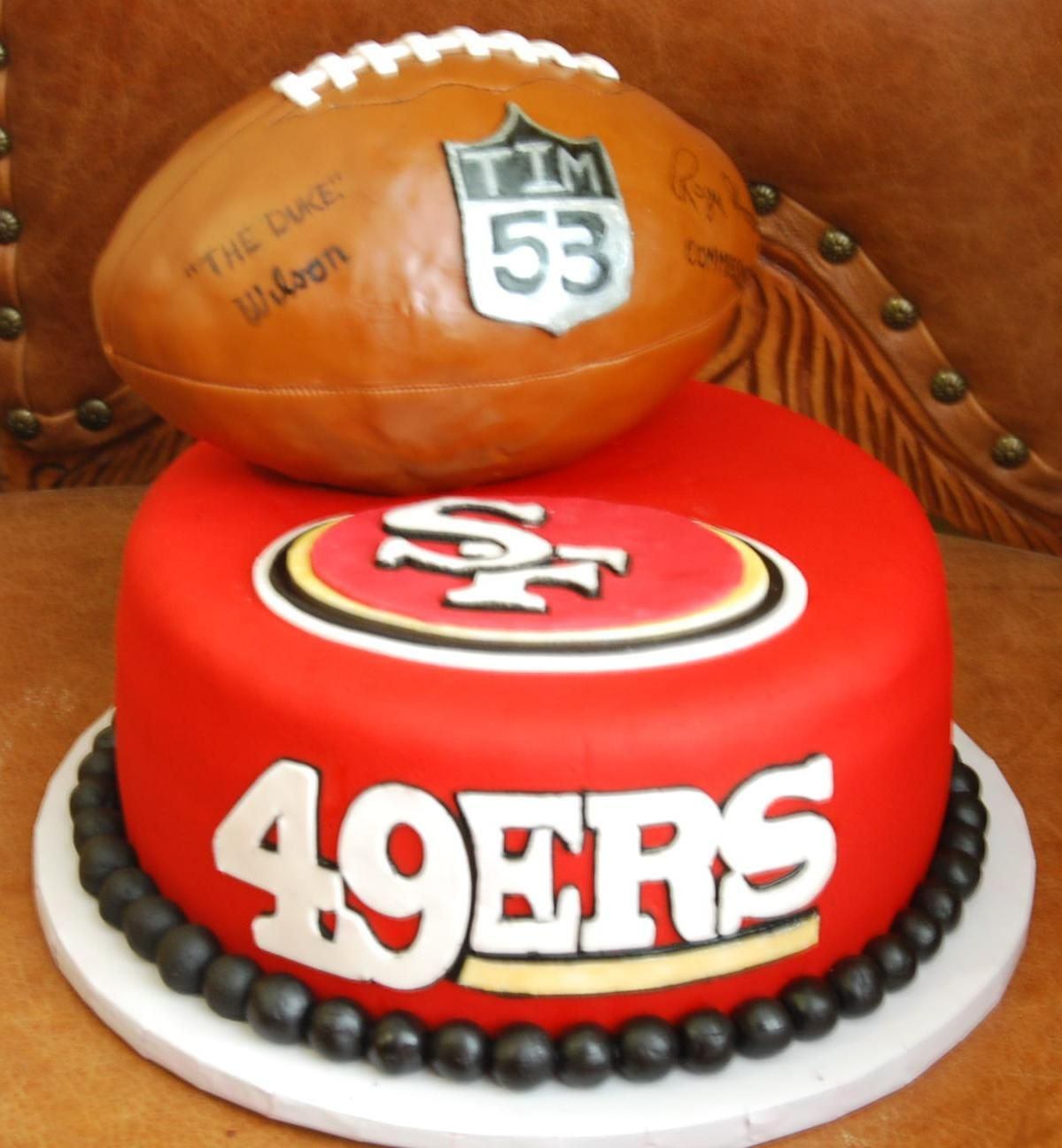 San Francisco 49ers Edible Photo Image Cake Topper 2 My Picture