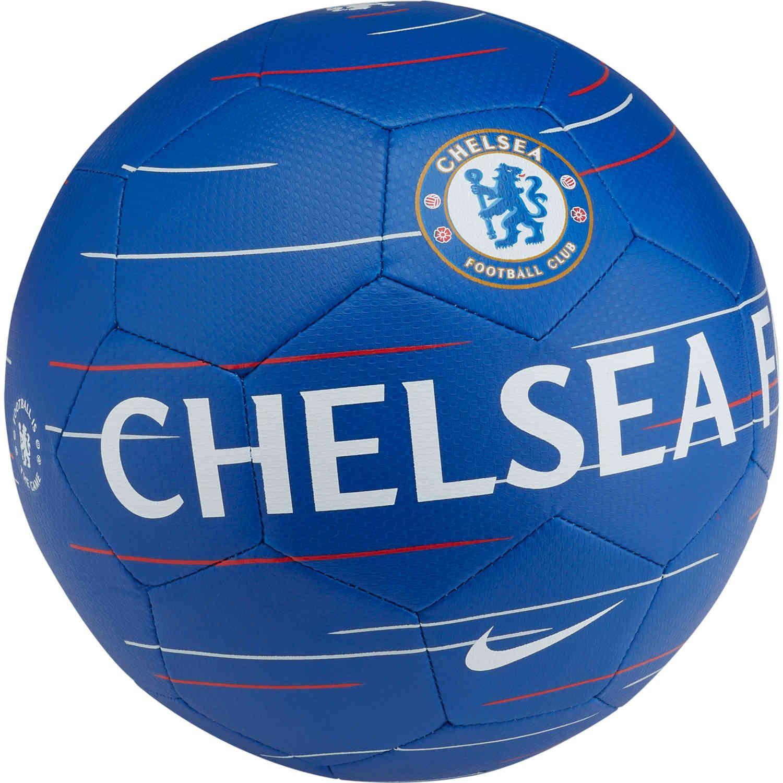 Nike Chelsea Prestige Soccer Ball – Rush Blue White  66ef36163d835