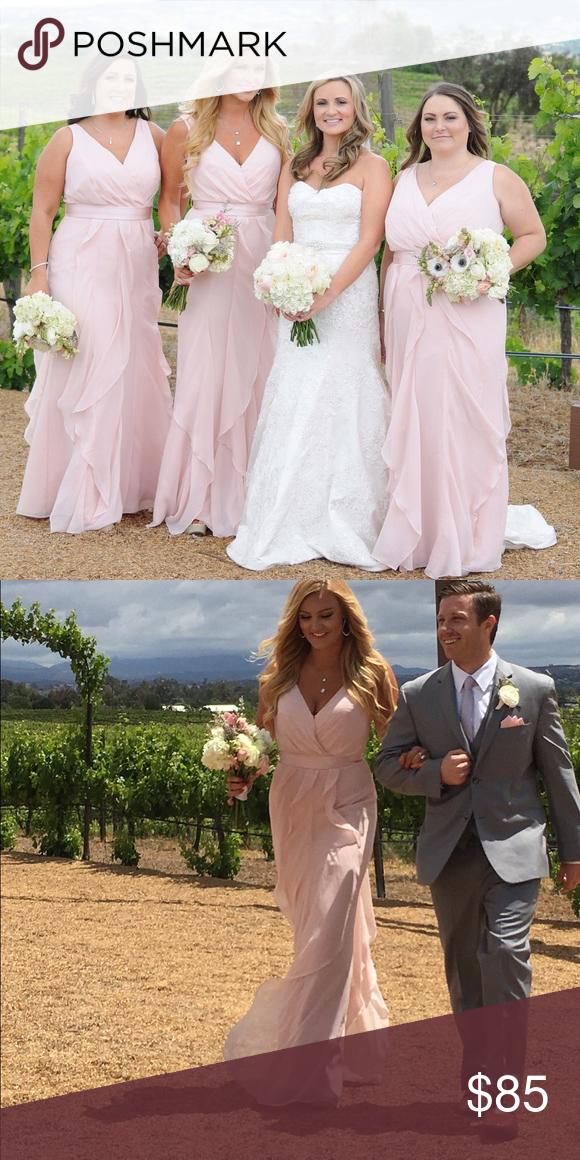 a9cebf36919 Vera wang bridesmaids dresses blush size 6   12 Vera wang bridesmaid dress  blush size 6