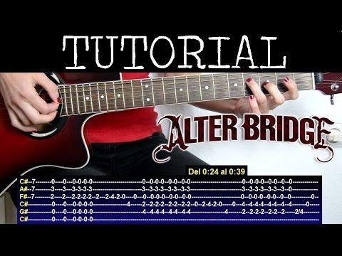 Como Tocar In Loving Memory De Alter Bridge Tutorial De Guitarra