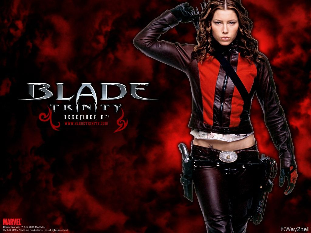 Blade Trinity 2004 Google Search With Images Jessica Biel