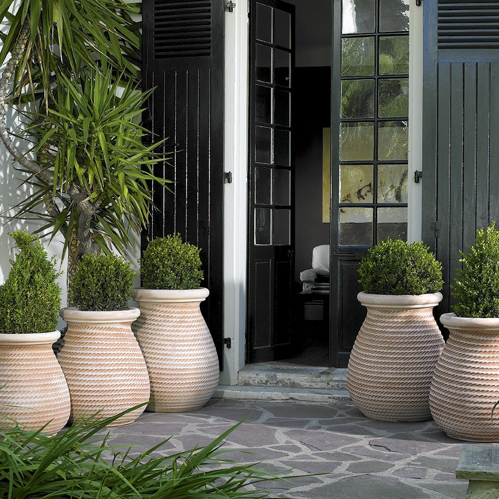 Pot Jardin Grande Taille jarre provençale cordé | poterie jardin, pot jardin, jardins