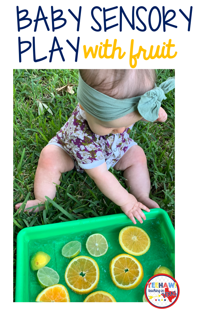 Baby Sensory Play with Fruit - Sarah Chesworth