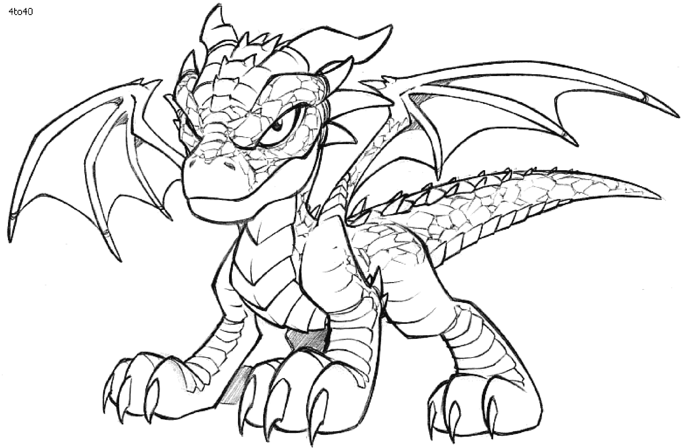 Free Printable Dragon Coloring Sheets For Kids Dragon
