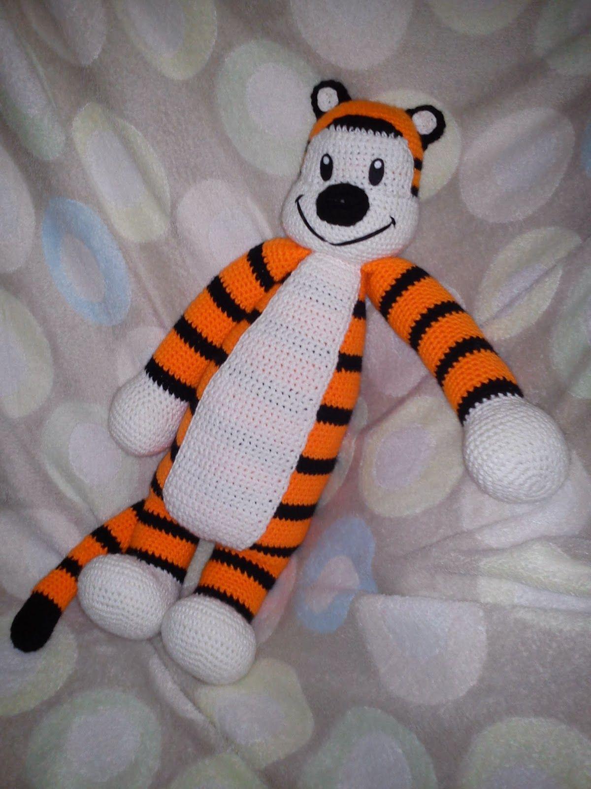Hobbes Amigurumi ~ Free Pattern | Crochet | Pinterest | Häkelideen ...