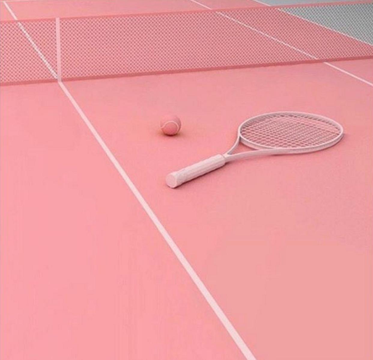 Pe Nation Tennis Wallpaper Tennis Pink Aesthetic